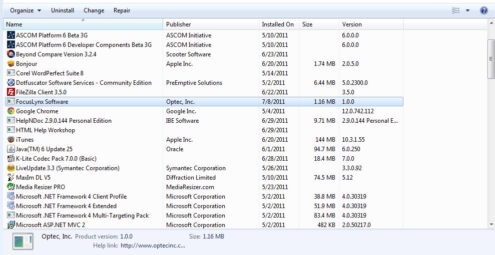 FocusLynx Focuser Hub Help File